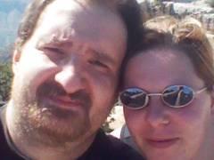 Bea und Seth im Urlaub..